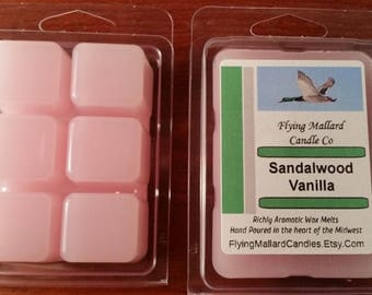 Sandalwood Vanilla Super-Scented Wax Melt