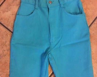 Colored denim shorts | Etsy
