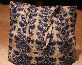 Mandala Tote Bag / Beach bag / Hand bag