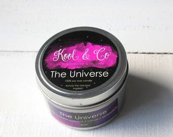 The Universe | Across the Universe Inspired Soy Candle