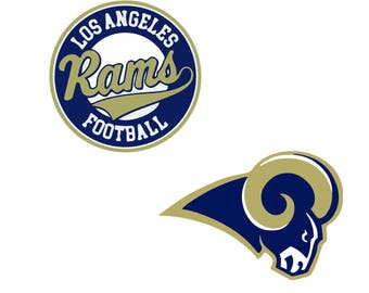 Los Angeles Rams SVG lodo digital EPS SVG DxF PnG