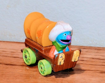 Vintage 1997 Playskool Muppets Inc Diecast Metal Wagon Train Rare