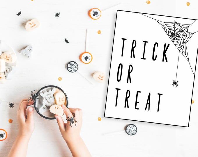 Trick or Treat- Modern Halloween Decor