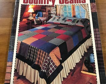 PRE-SUMMERSALE Leisure Arts Country Seams pattern book