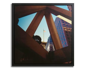 "Fine Art Photography ""Transamerica"" Framed Stretched Canvas"