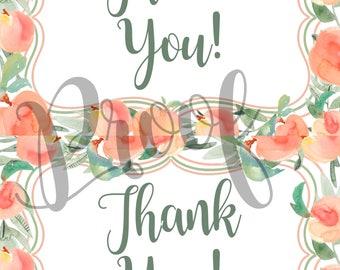 Sweet as a Peach Thank you, Sweet Peach Thank you cards