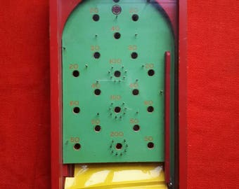 Vintage Chad Valley Pinball Bagatelle Game
