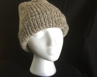 100% wool handmade toque