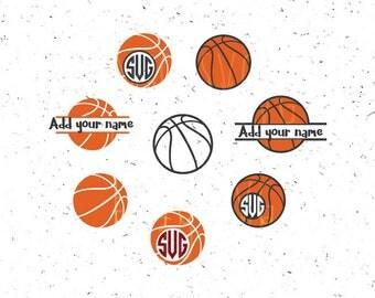 Basketball svg, Basketball Monograms svg Basketball Sport svg SPORT svg Basketball balls svg Basketball Boy monograms svg Cricut Silhouette