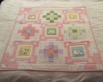 Extra small baby cradle blanket