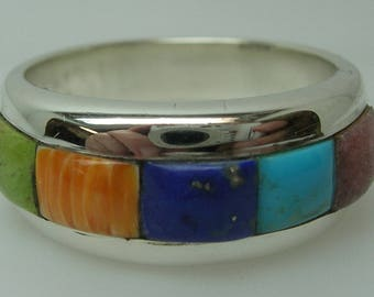 Ladies Southwest Style Silver Ring