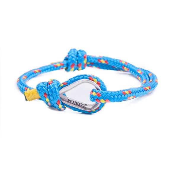 Birthday gift for him - 20th birthday gift, 30th birthday gift, 40th birthday gift, surfing bracelet, sailing bracelet, cord bracelet