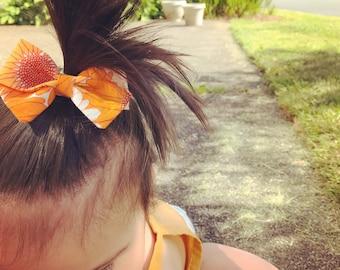 Sunflower bow