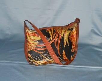 Authentic vintage Salvatore Ferragamo bag! Canvas and genuine leather!