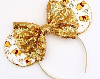 The Honey Pot - Handmade Mouse Ears Headband