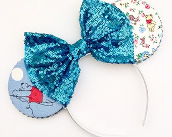 The Blustery Day - Handmade Mouse Ears Headband