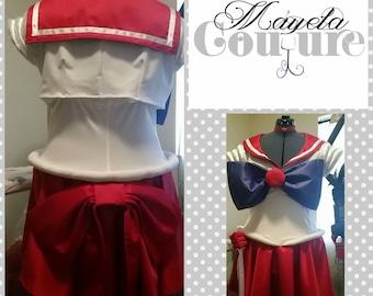 Sailor Mars costume cosplay- junior/woman- free shipping