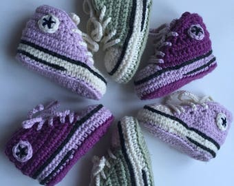 """Slipper """"Converse"""" style for baby"""