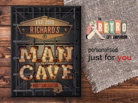 Man Cave Plaques Signs : Awesome man cave signs all gifts considered