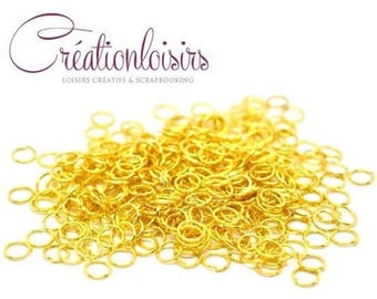100 colors 6 mm jump rings gold nickel free