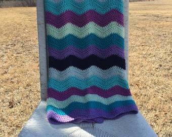Toddler blanket-ripple