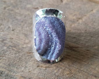 Lavender Galaxy Ring