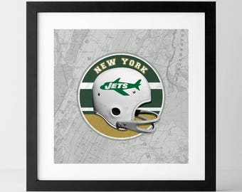 Vintage NFL: New York Jets-inspired