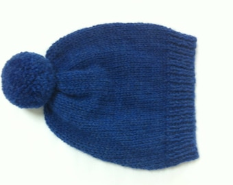 Woolen hat with Pompom