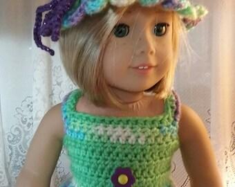 "Doll Dress for American Girl, 18"" Doll"