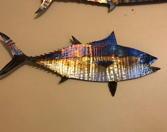 Stainless steel Black fin tuna