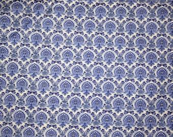 Long quarter  Freedom fabric cotton purple