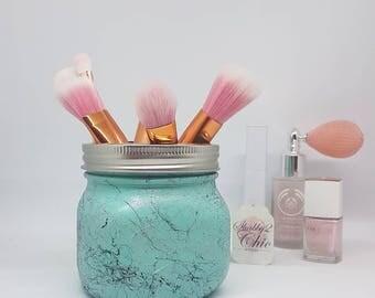 Stylish,Marble Marble Black Marble,Mason Jar,Ball Jar, Copper Decor/Make up brush holder/Birthday Gift/Bedroom/Office/Bathroom Decor