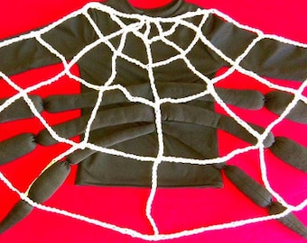 Spider  costume/Toddler costume/ Kids costume / spider dress up / handmade costume / Halloween costume
