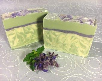 Lavender Mint - Handmade Cold Process Soap