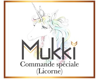 Custom order - Unicorn