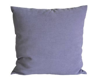 Lavender pillow-cover, quality furnishing-fabric, 50x50 cm/ 19,7x19,7 inch, for decorative pillow