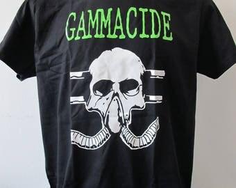 T-shirt GAMMACIDE [s-m-l-xl-xxl-xxxl] Devastation Rigor Mortis Evildead Morbid Saint Whiplash Solstice Vio-lence Razor Morbid Scream
