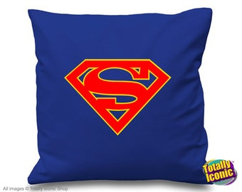 Supergirl  - Pillow Cushion Cover - Kara Zor-El, Inspired by the film series &  comic book hero