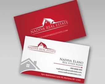 business card design real estate business card real estate