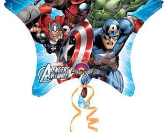"Avengers Star Balloon 29"", Avengers Balloon"