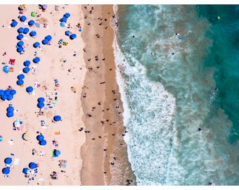 Orange County: 'California Love' // Aerial Beach Photography // 3 Different Print Sizes