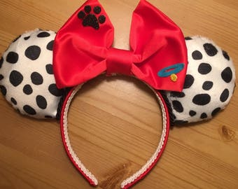 101 Dalmatians and Cruella Inspired Mouse Ears