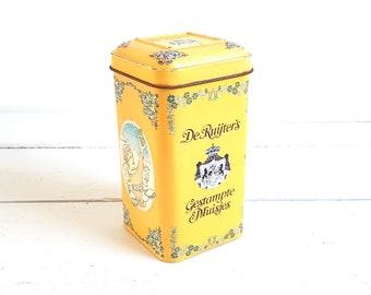 Old Dutch tin 'De Ruijter's gestampte muisjes' * vintage storage container * kitchen storage * kitchen decoration * collectible tin * anise