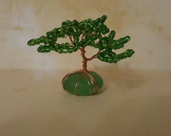 Mini Glass Beaded Tree