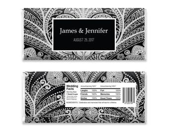 Chocolate Wedding Favor, Chocolate Bar Wrappers, Editable Chocolate Bar Wrapper, Candy Bar Wrapper, Candy Bar Template, Party Favor