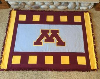 University of Minnesota Fleece Blanket