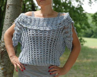 Crochet Summer Sweater, Awesome Summer Sweater, Handmade Summer Sweater, Women's Summer Sweater, Summer Fashion, Women's gift