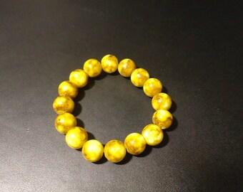 Beautiful gemstone bracelet.