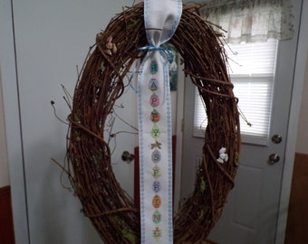 Happy Spring Wreath