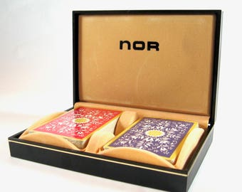 NOR Vintage Playing Cards, Set of 2